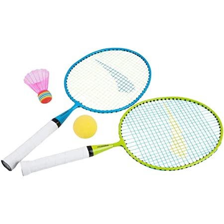 Hudora, Set di 2 racchette da badminton