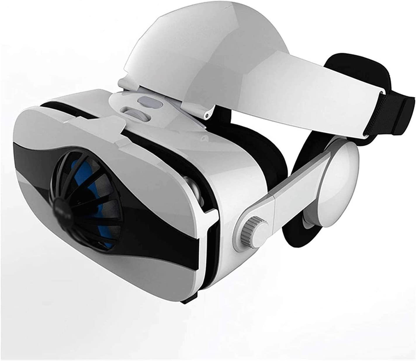 Bdesign Smart VR Headset for iOS and Android Phones - Virtual Reality Goggles   Comfortable & Adjustable VR Glasse   Play Your Best Mobile 3D Games 360 Movies