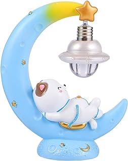 LED Night Light Lamp, Night lamp with Cat Moon Design Night Light Moon Lamp Decorative Night Lamp