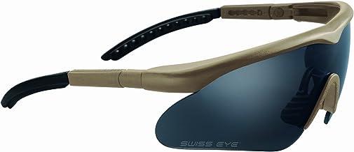Swiss Eye Raptor, 10162, sportbril, bruin rubber