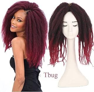 3Packs Afro Kinky Marley Braids Hair Extensions 18