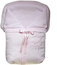 Saco de Mano o Capazo Osito, color rosa