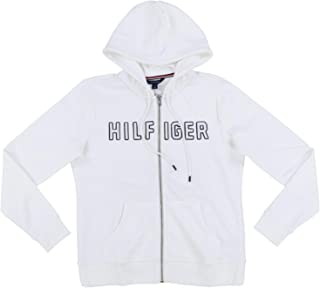 Tommy Hilfiger Womens Full Zip Hoodie with Applique Lettering