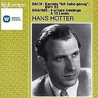 Bach: Cantata, BWV 82 / Brahms: 4 Ernste Gesange & 10 Lieder (2003-12-05)