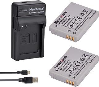 Newmowa NB-5L Batería (2-Pack) y Kit Cargador Micro USB portátil para Canon NB-5L and Canon PowerShot S100 S110 SD700 IS SD790 IS SD800 IS SD850 IS SD870 IS SD880 IS