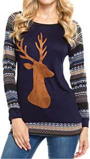 Best womens christmas tops 2017 Reviews