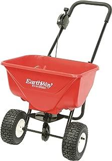 Earthway 2030PPlus Deluxe Lawn & Garden Spreader with 9-Inch Pneumatic Wheels