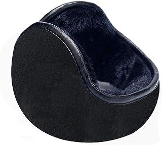 WeiMeet Unisex Fleece Earmuffs Foldable Earmuffs Winter Outdoor Ear Warmer Men's Earmuffs Women's Earmuffs