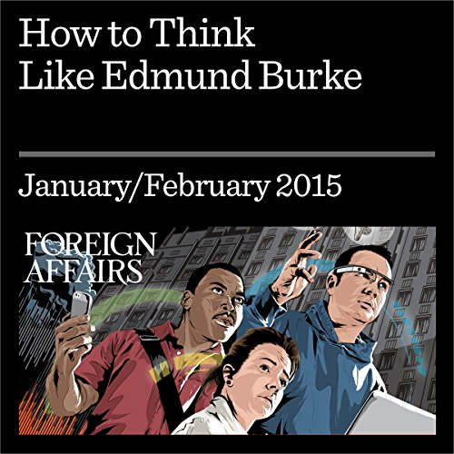 How to Think like Edmund Burke audiobook cover art