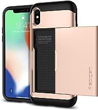 Spigen Slim Armor CS Designed for Apple iPhone Xs Case (2018) / Designed for Apple iPhone X Case (2017) - Blush Gold