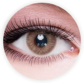 Dahab Cat Eye Contact Lenses, Unisex Dahab Cosmetic Contact Lenses, 9 Months Disposable- Natural and Beauty Collection, Ca...