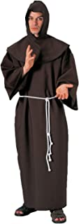 Forum Deluxe Hooded Monk Costume Robe
