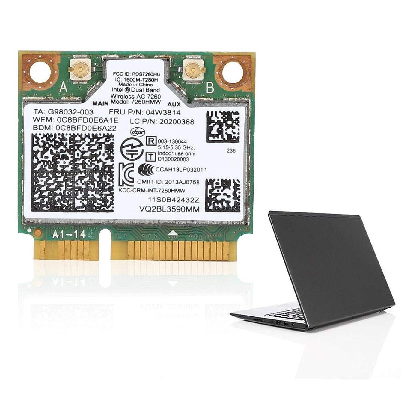 布強調する傾向があります7260HWM 867Mラップトップ用デュアルバンドネットワークカード+ Bluetooth4.0 04W3814