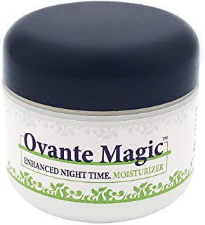 Ovante Magic Enhanced Moisturizing Night Cream For Demodex, Rosacea, Acne Prone Skin with Tea Tree Oil, Peptides, Vitamins...