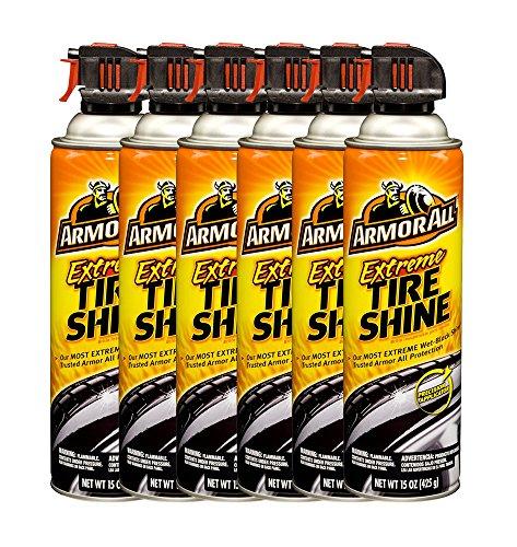 Armor All Extreme Tire Shine Aerosol (15 oz.) - Pack of 6