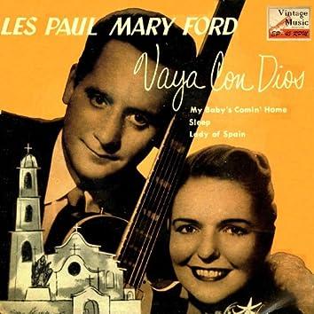 """Vintage Vocal Jazz / Swing Nº 52 - EPs Collectors, """"Vaya Con Dios"""""""
