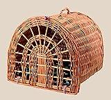 OOFWY La Jaula del Animal doméstico/el Estilo Ocasional de la Manera/el Bolso Portable/los Gatos y los Perros respiran la Jaula/la jerarquía del Animal doméstico/el Material de la Rota