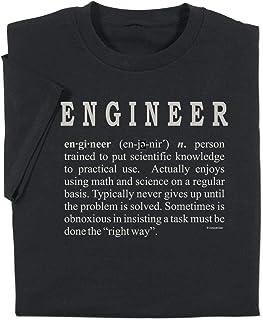 ComputerGear Funny Engineering T Shirt Engineer Definition Geek Nerd Adult Tee