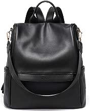 Best black leather backpack ladies Reviews