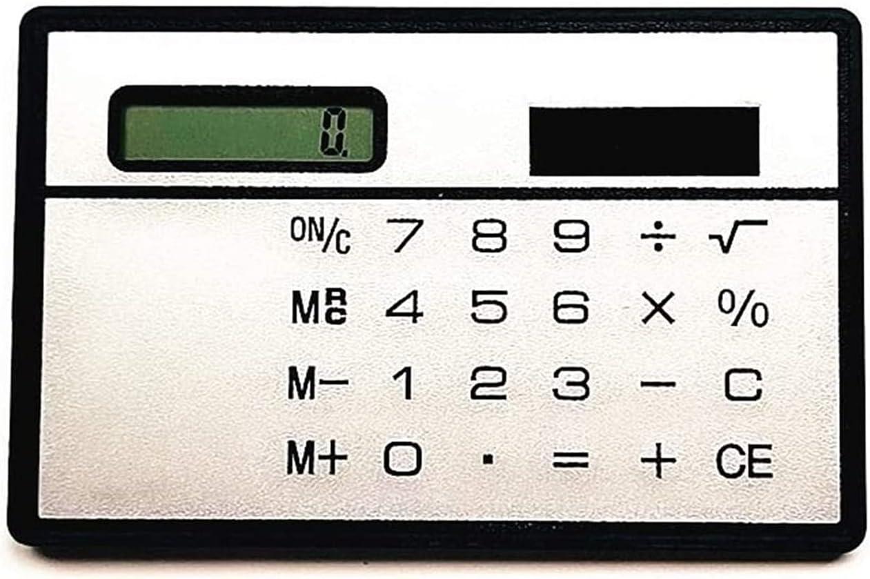 New mail order PWV Multifunction Creative Solar Ranking TOP14 Mini Card Calculator