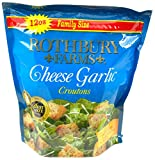 Best Croutons - Rothbury Farms Seasoned Cheese Garlic Croutons, Family Size Review