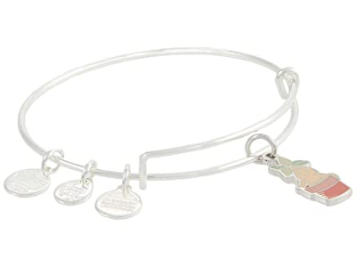 Alex and Ani Harry Potter, Mandrake Bangle Bracelet (Shiny Silver) Bracelet