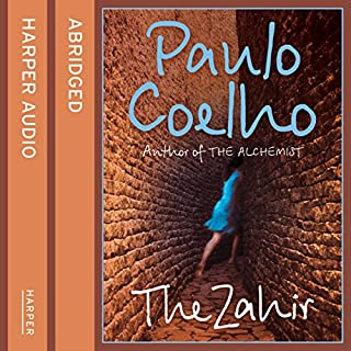 The Zahir audiobook cover art
