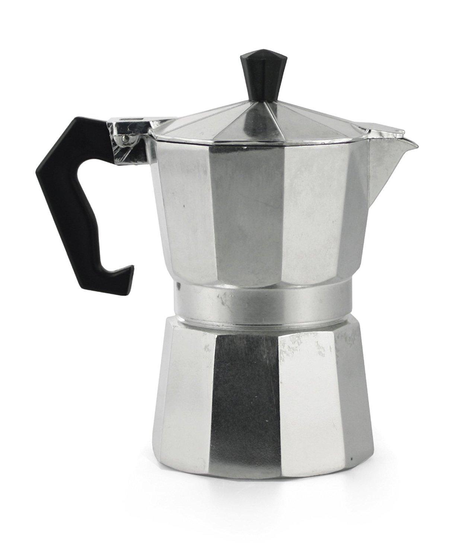 Takestop® - Cafetera para 2 tazas, para café mocca y Espresso ...