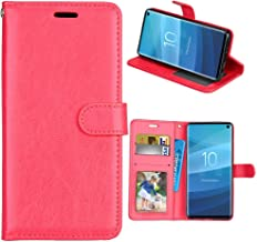XYX Wallet Case [3 Card Holder][Stand Feature] Premium Flip PU Leather Magnetic Closure TPU Bumper Slim Fit Cover for Samsung Galaxy Grand Neo Plus Lite I9060 (Red)