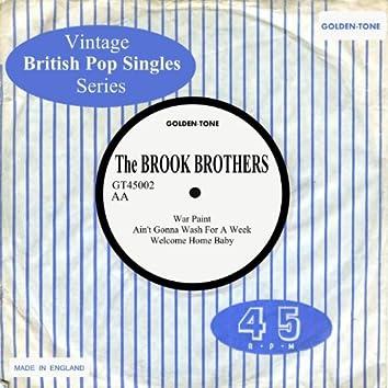 Vintage British Pop Singles: The Brook Brothers