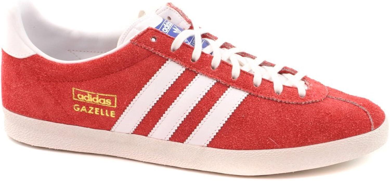 Adidas Gazelle OG Rot Wildleder Rare Retro Skeaker Schuh