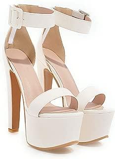 Women High Heels Sandals Summer Stiletto Heels Platform Shoes Sexy Ladies Wedding Shoes