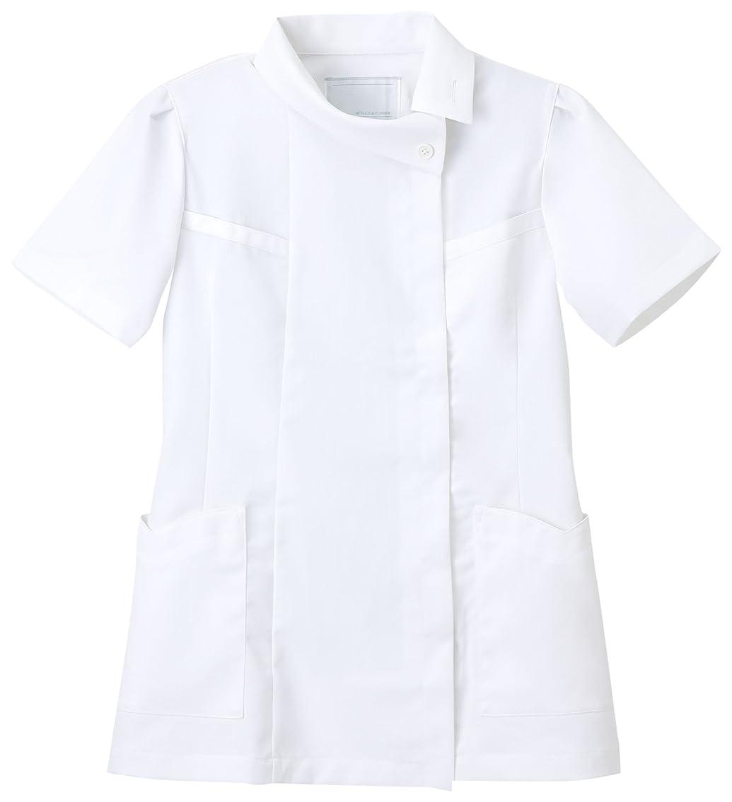 豊かにするどっち威信ナガイレーベン NAGAILEBEN チュニック FE-4522(S) ホワイト