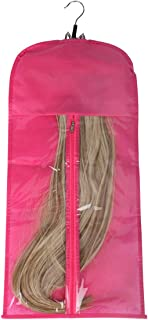 Hair Extension Carrier Storage Case Bag and Hanger Wig Stands