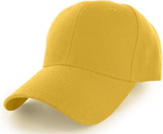 Plain Baseball Cap Adjustable Men Women Unisex | Classic 6-Panel Hat | Outdoor Sports Wear (20+Colors)