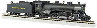 Bachmann Industries Trains Usra Light 2-8-2 Dcc Sound Value Equipped Prr 9630 Medium Tender Ho Scale Steam Locomotive