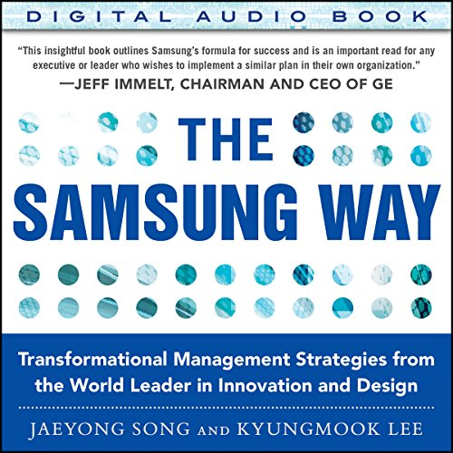 The Samsung Way audiobook cover art