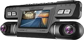 Máy thâu hình đặt trên xe ô tô – Pruveeo B80 Dash Cam with WiFi, Dual 1080P Front and Inside, Dash Camera for Cars Uber Lyft Truck Taxi