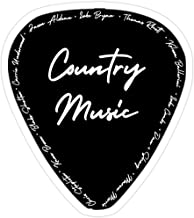 Hik kal Shop Country Music Stickers (3 Pcs/Pack)