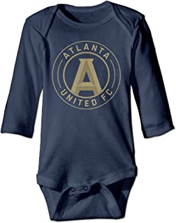 Ashin Atlanta United for 6-24 Months Infant Romper Outfits Navy