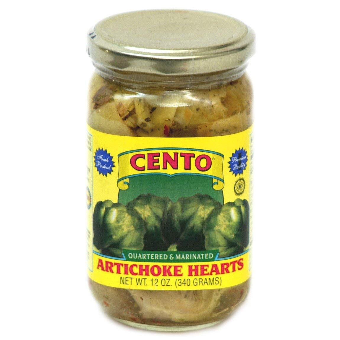 Cento - Marinated Artichoke Phoenix Mall Hearts Jars Super-cheap 4 oz. 12