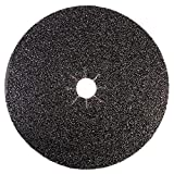 Mercer Industries 426036 Silicon Carbide Floor Sanding Disc, Cloth Back, 16' x 2' Hole, Grit 36X, 20-Pack