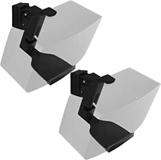 WALI SONOS Speaker Wall Mount Brackets for SONOS Play 5 Gen2 Multiple Adjustments, Hold up to 16 lbs, 7 kg, (SWM002-2), 2 ...