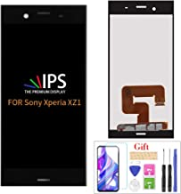 Screen for Sony Xperia XZ1, Assembly LCD Display Touch Screen Digitizer Glass Replacement Part Compatible for Sony Xperia XZ1 G8341 G8342 G8343 SO-01K 701SO 5.2 inch (Black)