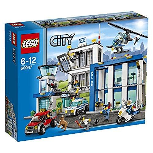 LEGO City-60047 Comisaria de policía, multicolor, Miscelanea (60047) , color/modelo surtido