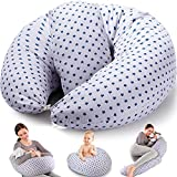 Chilling Home Nursing Pillow, Original Breast Feeding Pillows for Babies or Moms with Inner Cushion,...