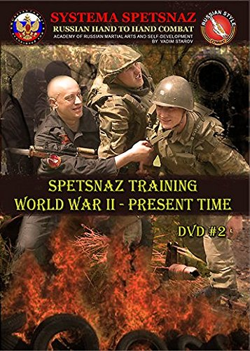 RUSSIAN SYSTEMA DVD - Spetsnaz Training World War 2 To Present Time. Russian Martial Arts Hand to Hand Combat DVD.