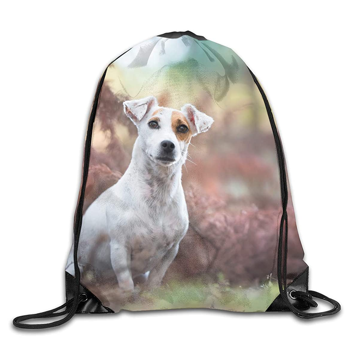 Beagle Meadow Play Dog StareDrawstring Bag Backpack Sackpack Shoulder Bags Gym Bag Lightweight Gym For Men And Women Hiking Swimming Yoga