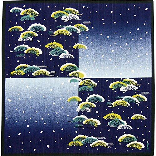 Hamamonyo Furoshiki - Tela de pino para invierno