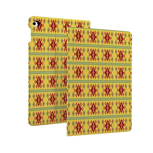 Native American Decor - Funda protectora de piel para iPad de 7ª generación 10,2' 2019, diseño étnico Ikat primitivo azteca, funda giratoria inteligente con función de apagado y encendido automático para iPad de 10,2 pulgadas Retina d multicolor Color_15 Case for iPad 10.2' 2019 (7th Generation)